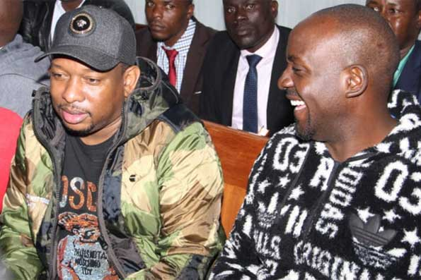 Image result for Mike sonko in court