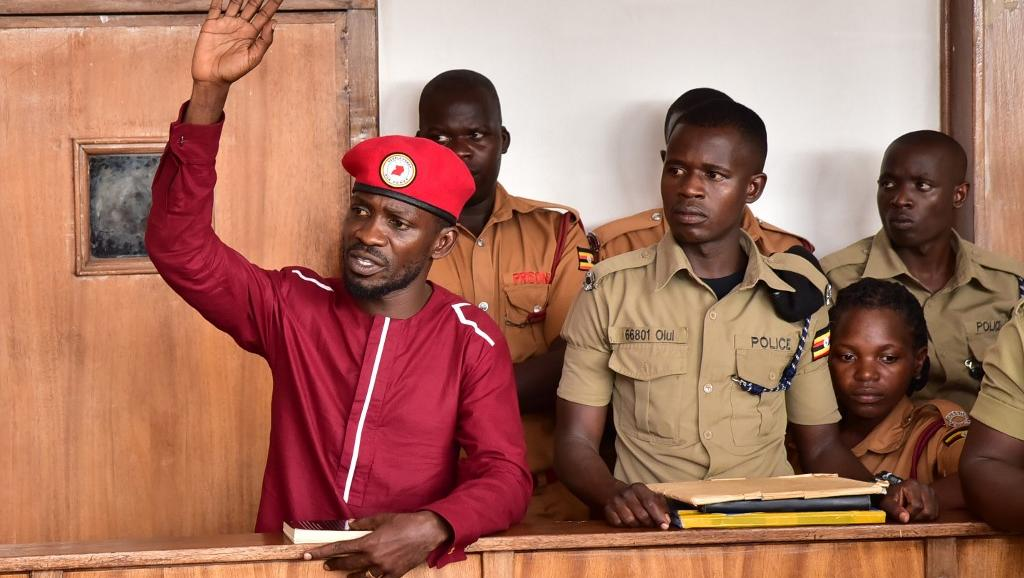 Bobi Wine in court