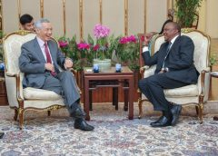 Come invest in Big Four agenda, Uhuru urges Singapore, Asian states